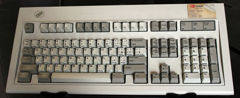IBM 1393464 Sabre Keyboard