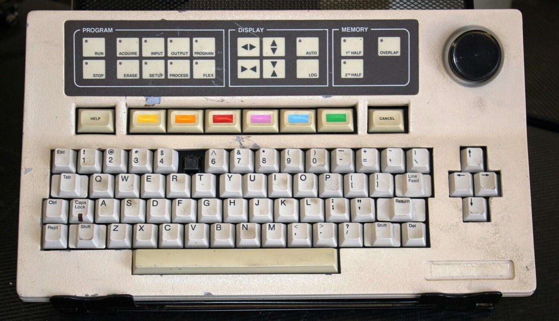 Tracor Northern Series 5000 Keyboard