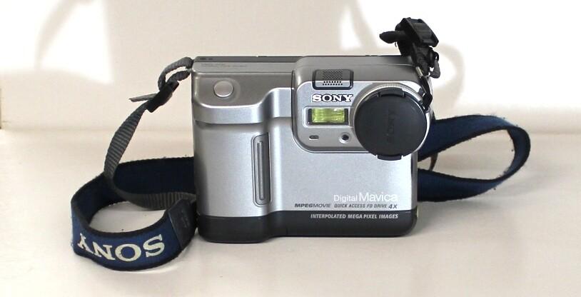 Sony Mavica MVC-FD83 Digital Camera