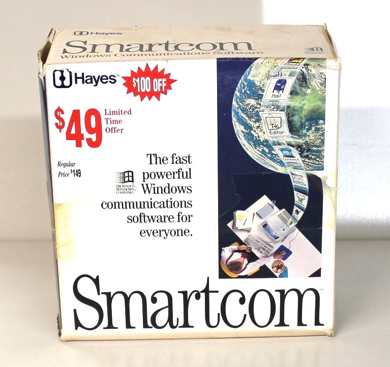 Hayes Smartcom Windows Communications Software
