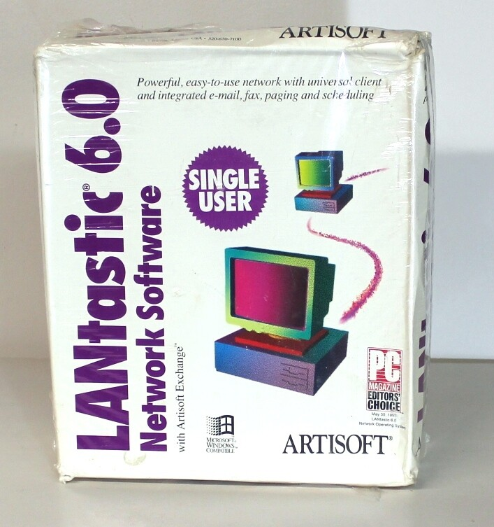 Artisoft Lantastik 6.0 Software