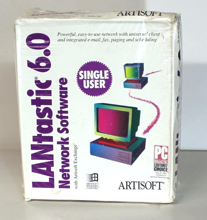 Artisoft Lantastik 6.0 Software