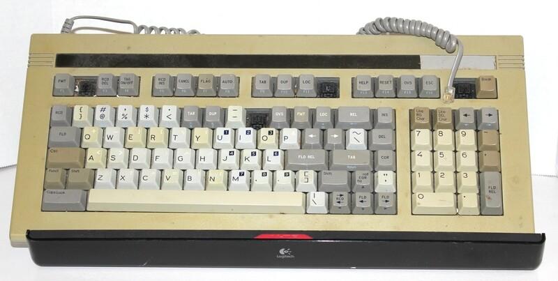 Wyse keyboard from 1988
