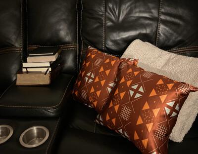 Eboni Satin Throw Pillow