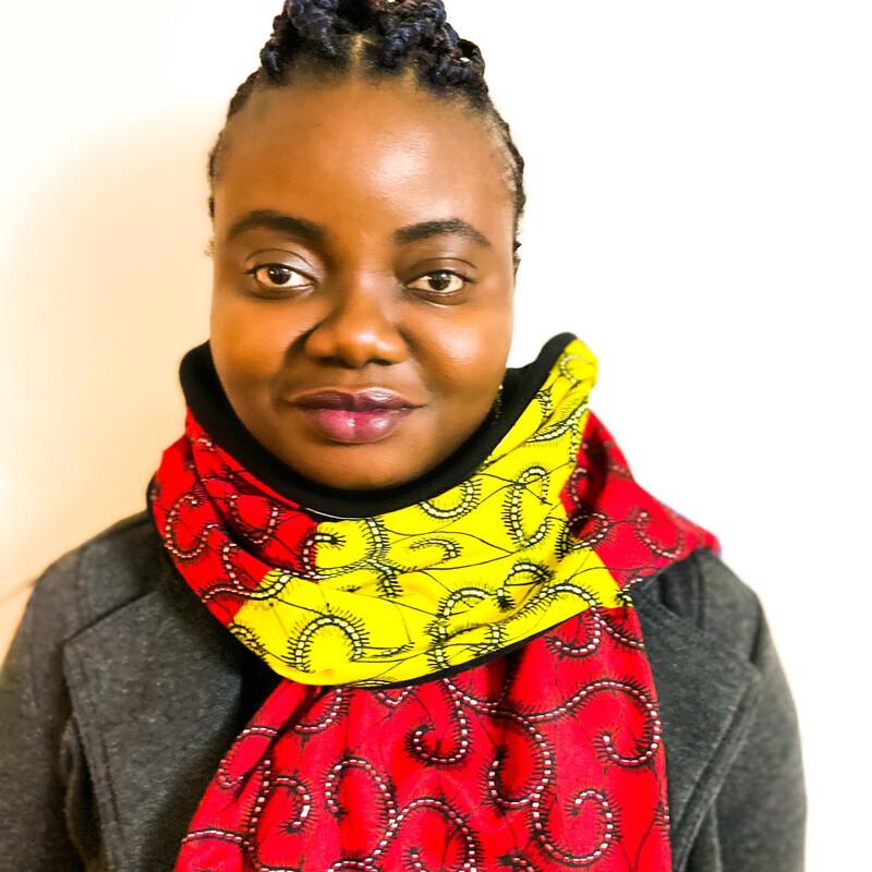 Sara African Print Scarf