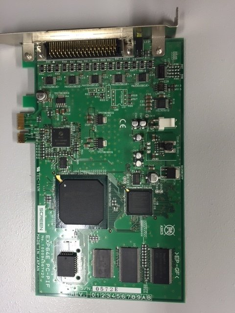 PIF-Board Screen EXP64E