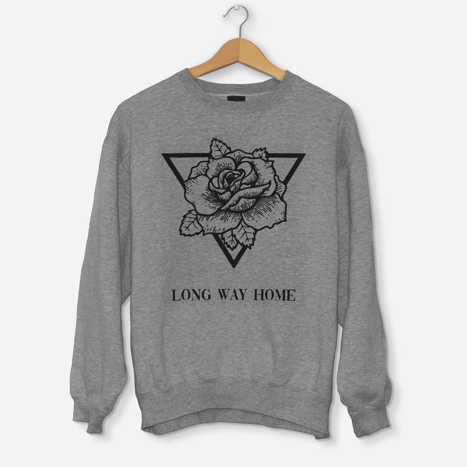PREORDER - Sweatshirt Triangle Rose