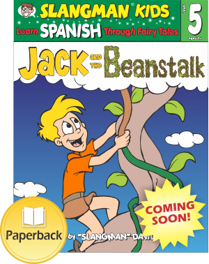 (LEVEL 5 - Paperback) JACK AND THE BEANSTALK - English to Spanish