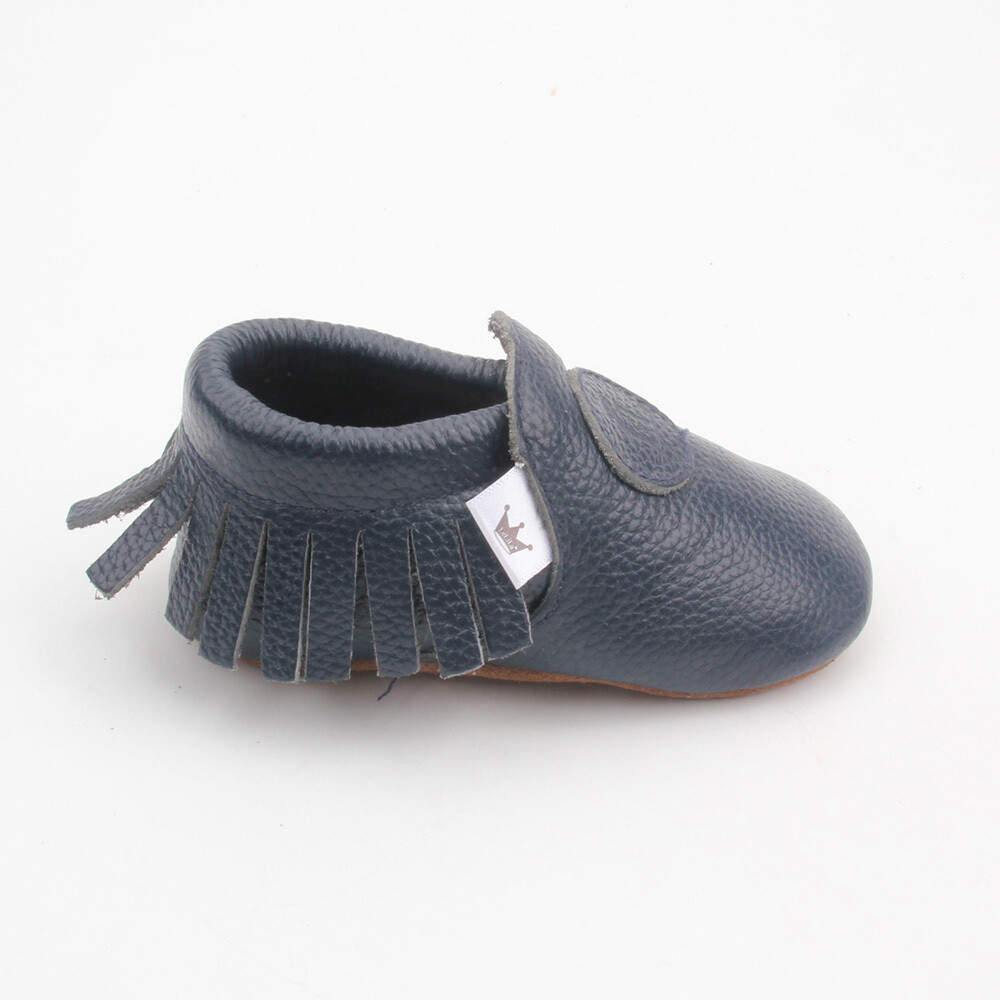 Classic Moccasins  - Navy