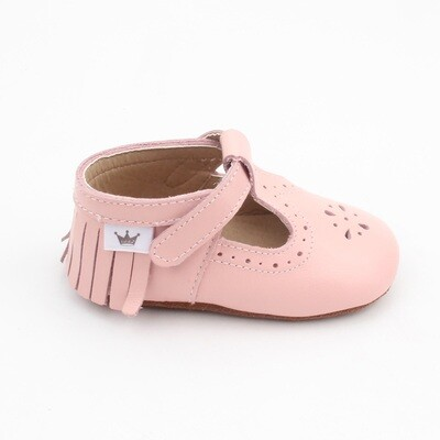Moccasins T-Bars - Pink