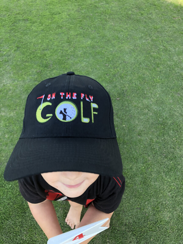 On The Fly Golf Hat