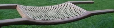 Canoe seat frame - contoured