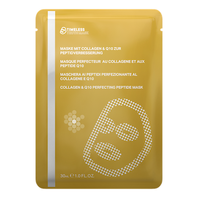 ​COLLAGEN & Q10 PERFECTING PEPTIDE MASK