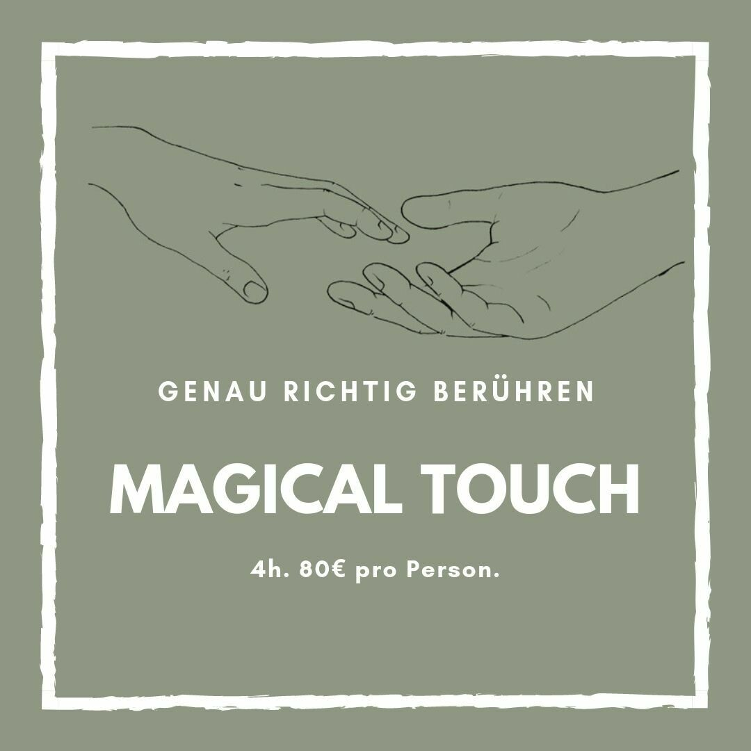 4h Magical Touch Workshop für Einzelpersonen & Paare