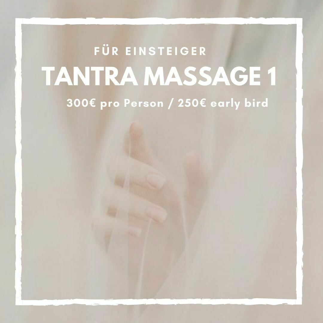 Tantra Massage Level 1
