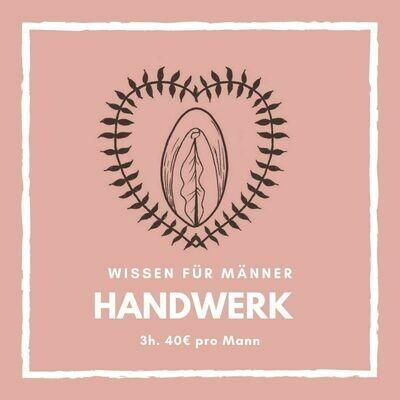 3h Handwerkerkurs: Einfühlsame Berührungsvielfalt an der Frau.