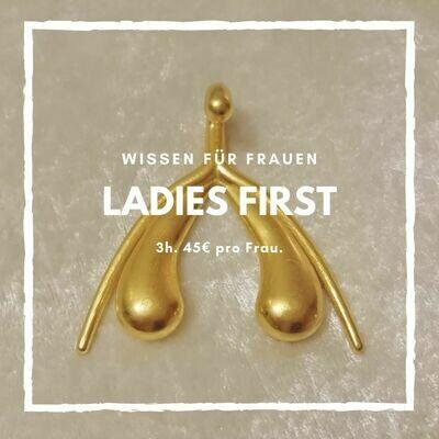 Ladies First - Alles über weibliche Sexualität. Von Frau zu Frau.