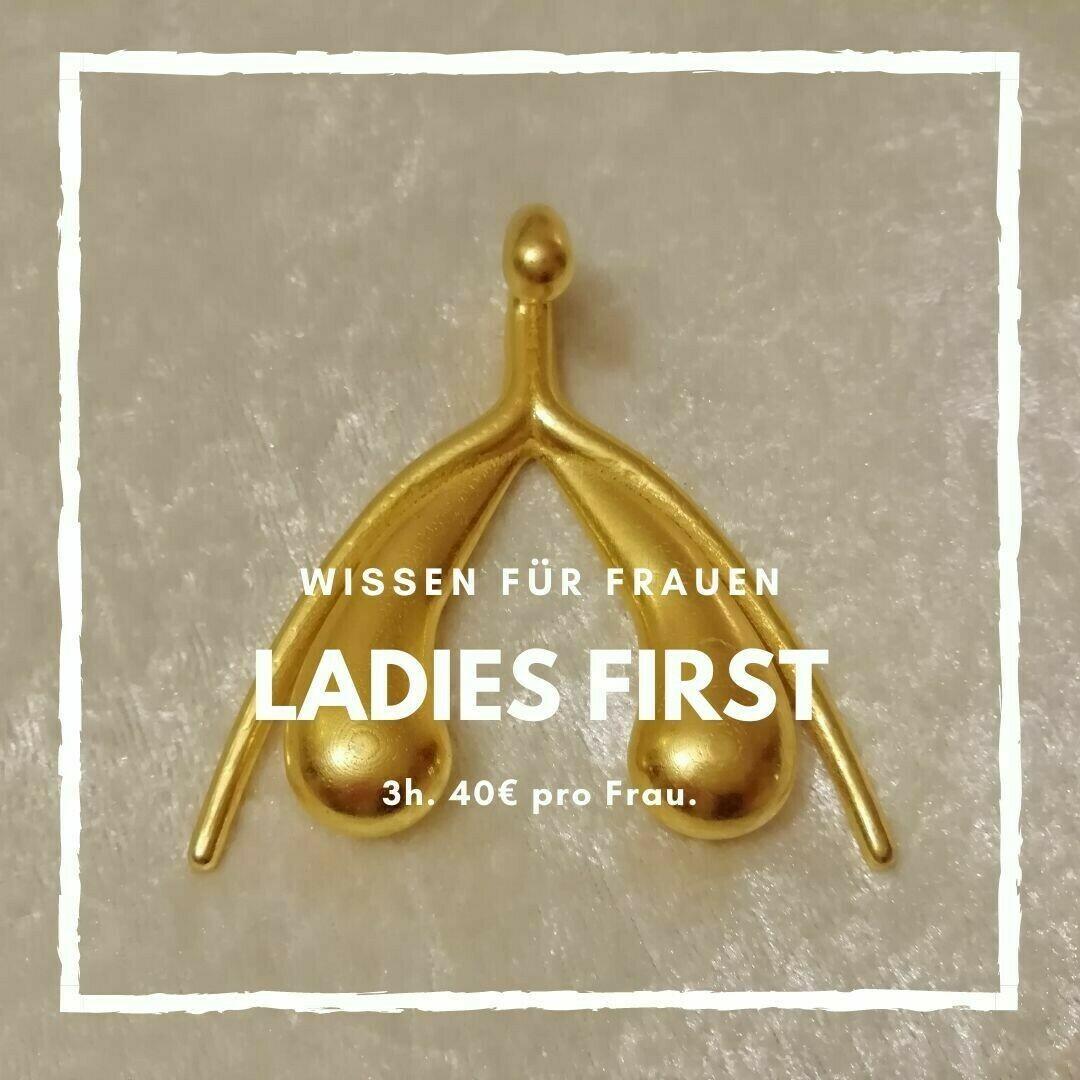 ONLINE Ladies First - Alles über weibliche Sexualität. Von Frau zu Frau.