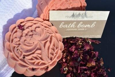 Bath Bomb - ROSE 3 pack