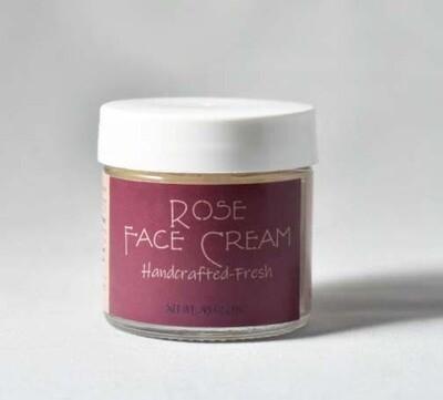 Rose Face Cream 1 oz jar (.45 oz/13 g)