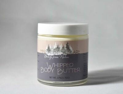 Whipped Body Butter 4 oz. (3.75 oz/106g)