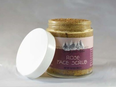 Rose Face Scrub