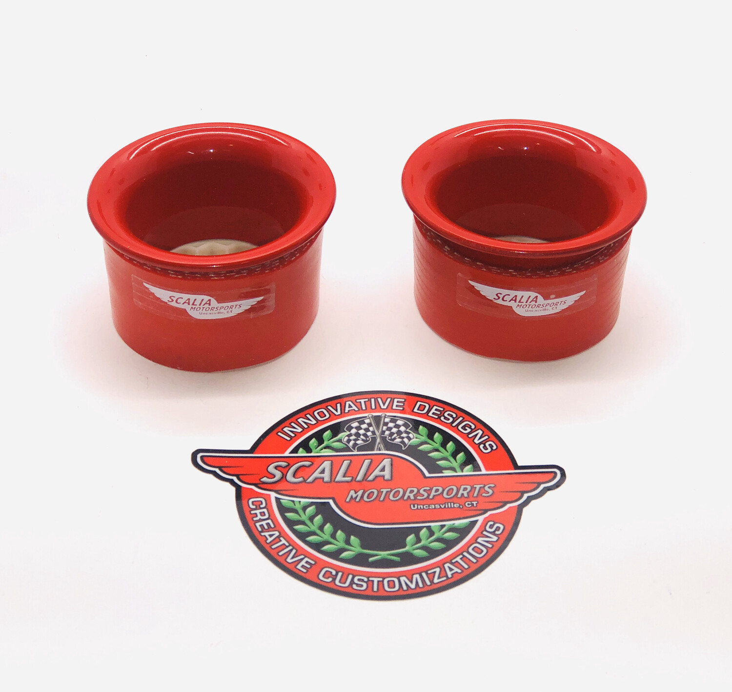 GATTO-50 Aluminum Painted Headlight Intake Rings