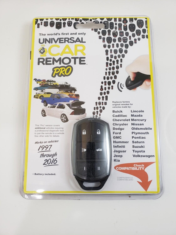 Universal car remote