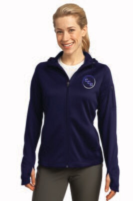 Ladies Tech Fleece Full-Zip Hooded Jacket Calvary Christian School