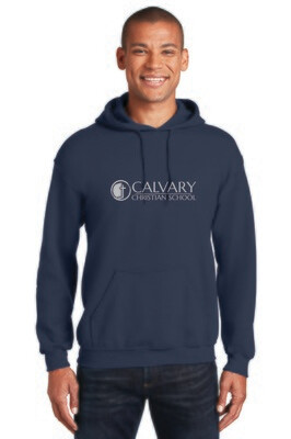 Adult and Youth Heavy Blend Hooded Sweatshirt Calvary Christian School
