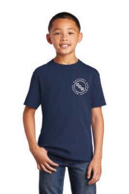 Youth core cotton Tee Calvary Christian School