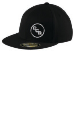 Flexfit flat bill cap Calvary Christian School