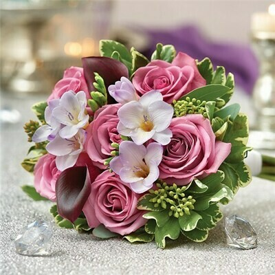 Bride Toss Away Bouquet