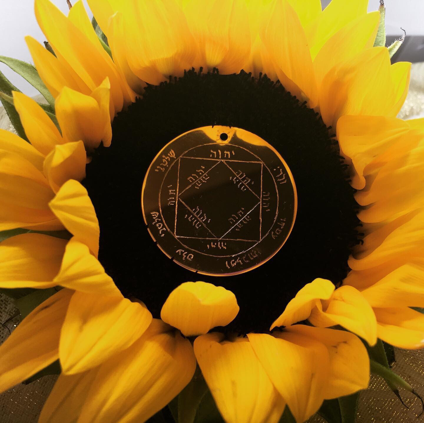 The Third Pentacle of the Sun