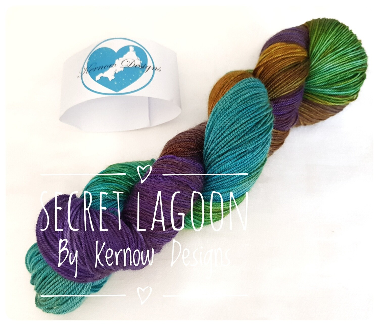 Secret Lagoon Handdyed Yarn