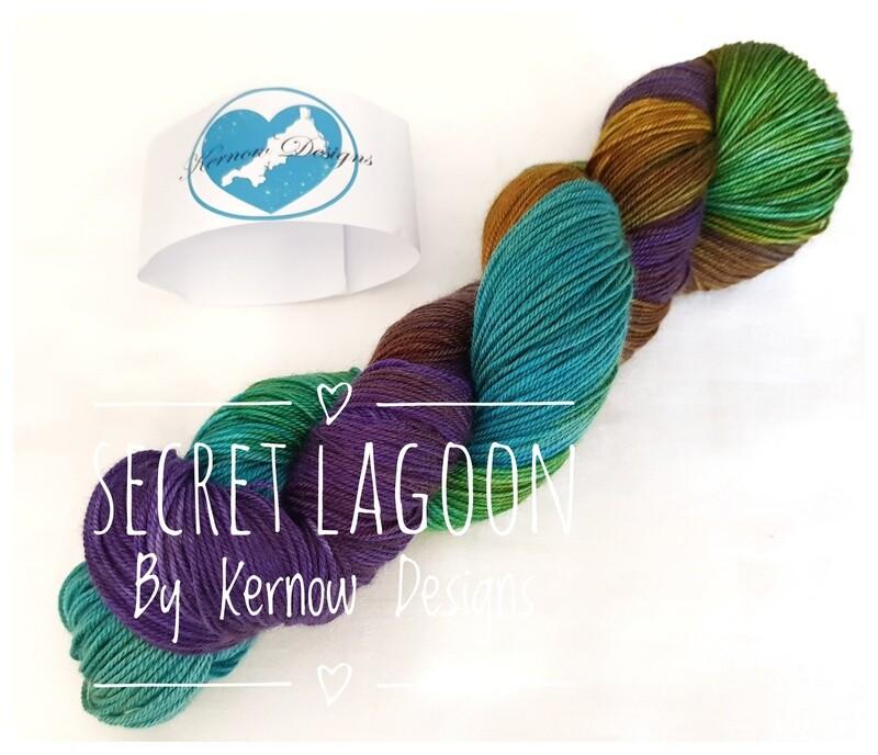 Secret Lagoon Handdyed Yarn