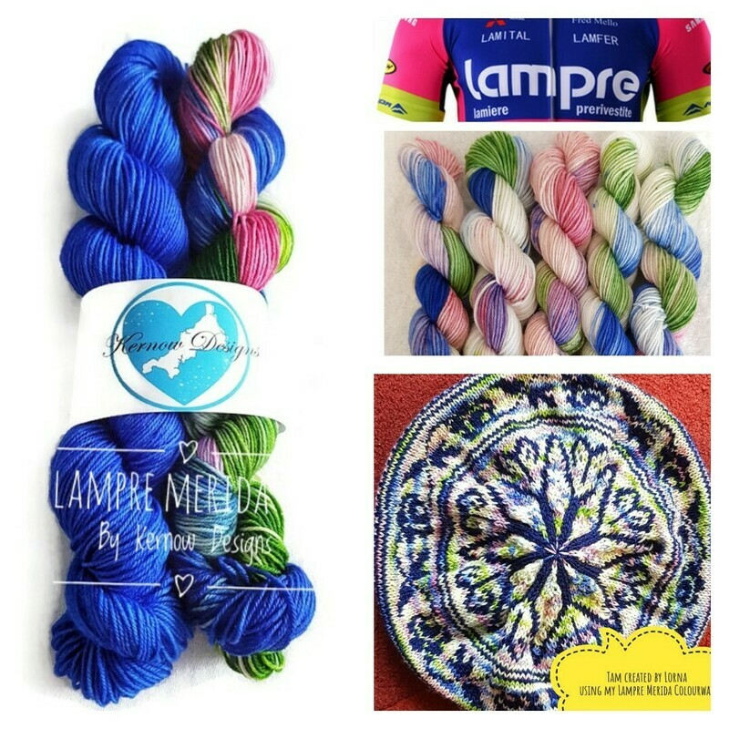 Lampre Merida Hand Dyed Yarn