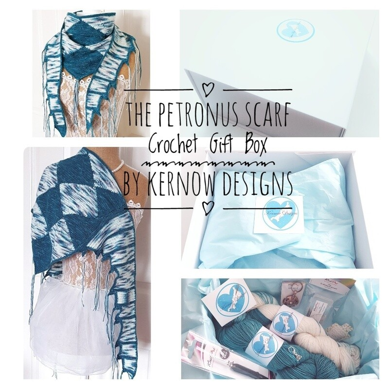 The Petronus Scarf Crochet Gift Box