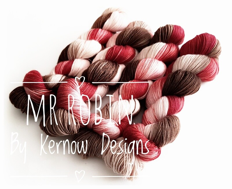Mr Robin Hand Dyed Yarn