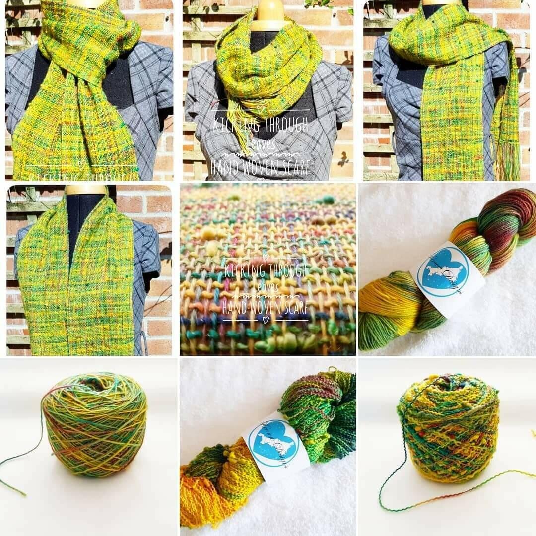 Weavers Kit Hand Dyed Yarns