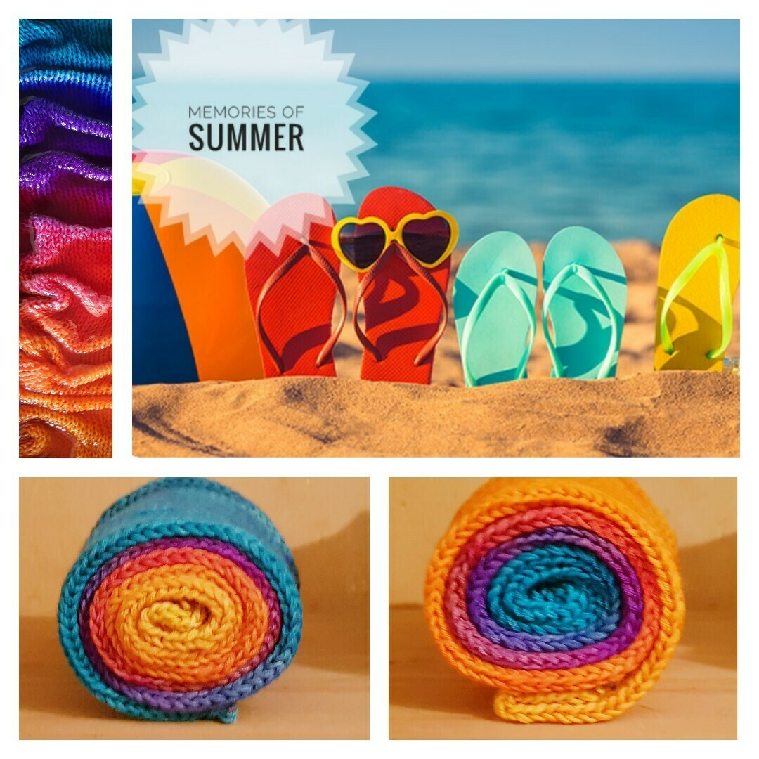 Memories Of Summer Hand Dyed Yarn