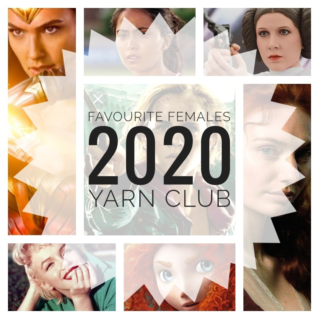 Mystery Yarn Club 2020 (6 Month Plan - INCLUDES 1 MONTH FREE!!)