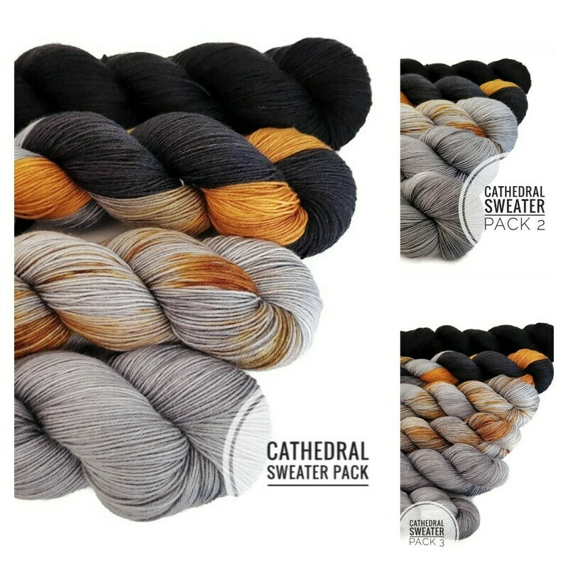 Cathedral Sweater Pack Hand Dyed Yarn