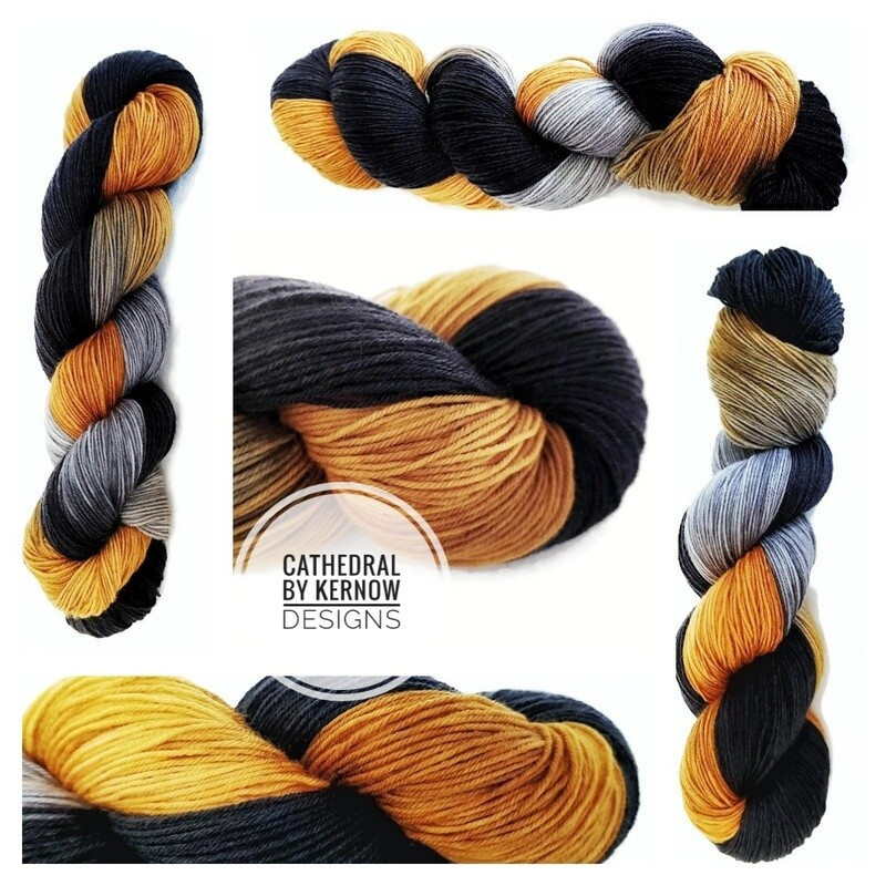 Cathedral Hand Dyed Yarn