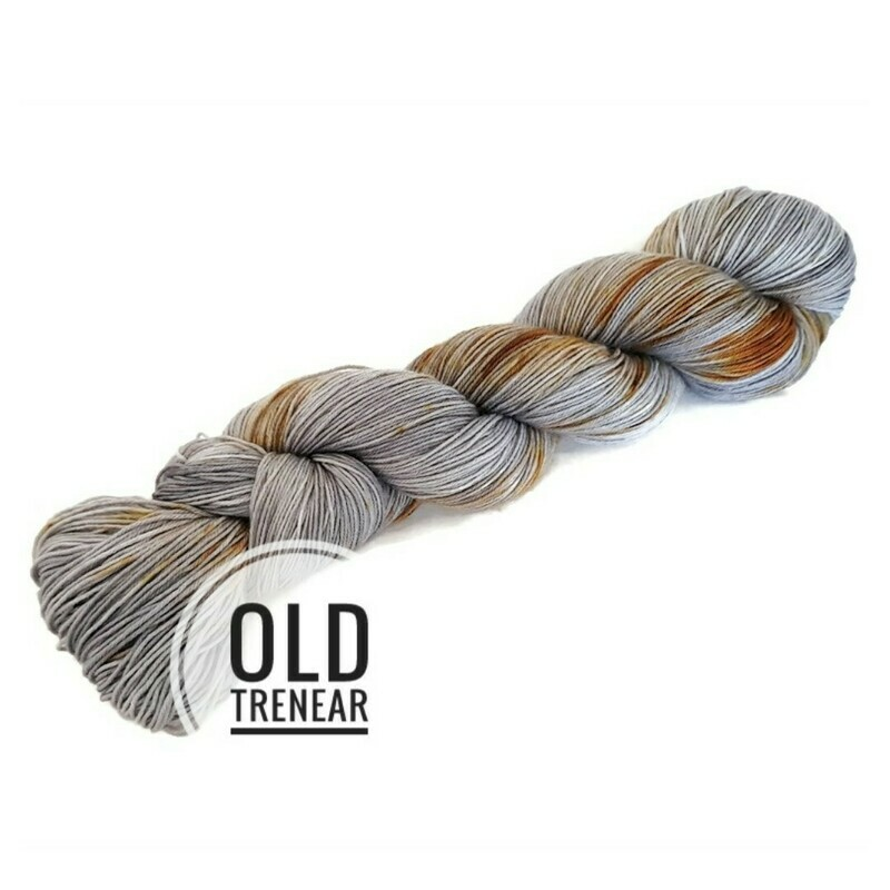 Old Trenear Hand Dyed Yarn