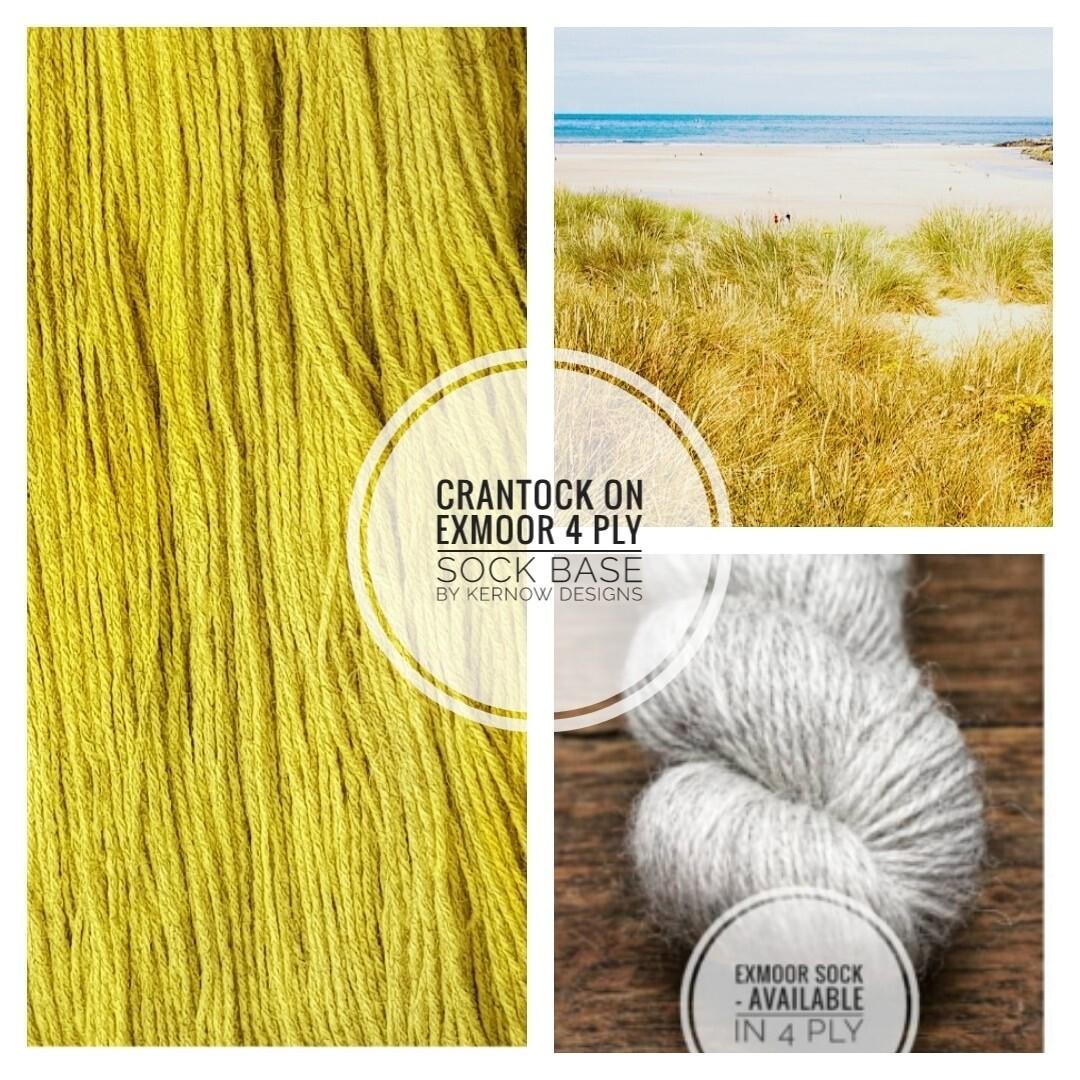Crantock Hand Dyed Yarn