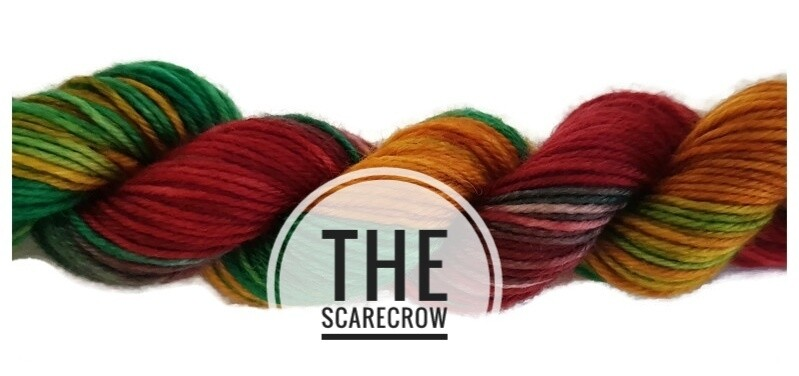 The Scarecow Hand Dyed Yarn