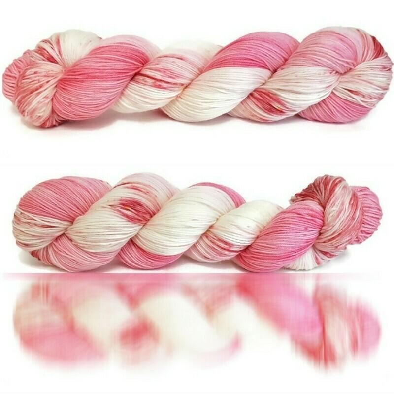Rosa Chiaro Hand Dyed Yarn