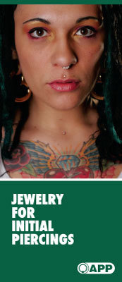 Jewelry For Initial Piercings Brochures