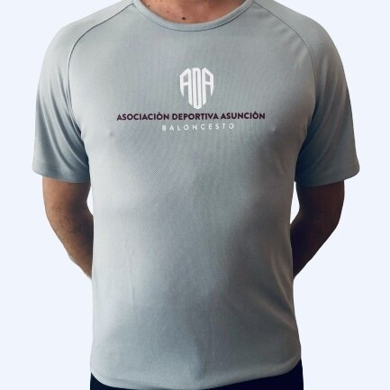 Camiseta oficial de entrenamiento ADA COLOR GRIS